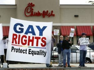 Chick-fil-A Protesters